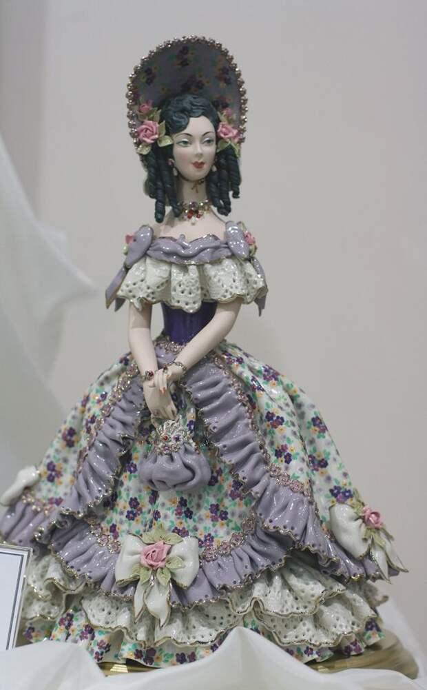 Porcelain Doll by Tatyana Zhukova