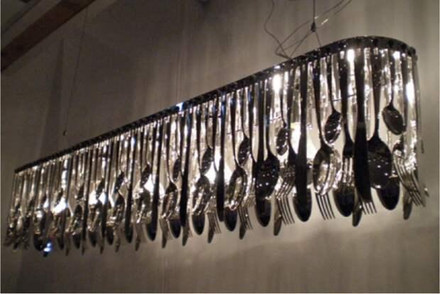 Подборка очень интересных идей организации освещения на кухне из подручных средств