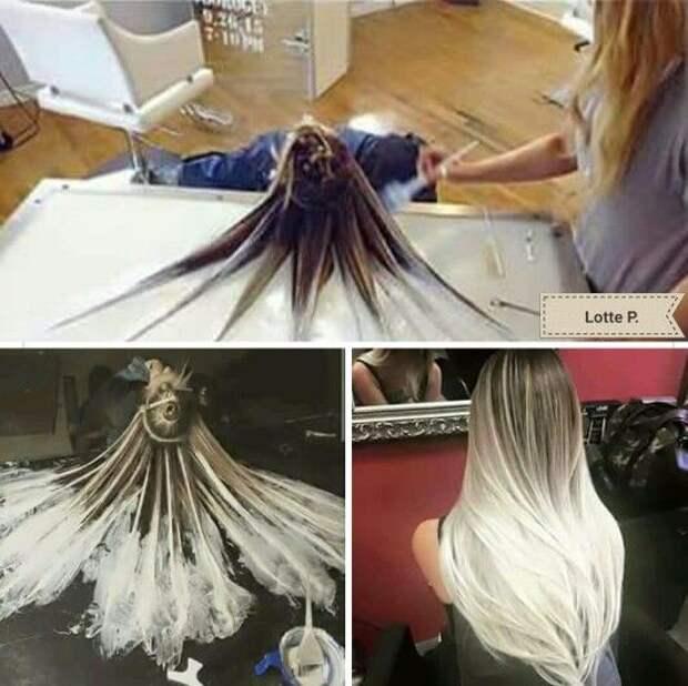Как покрасить дома голову (Diy)