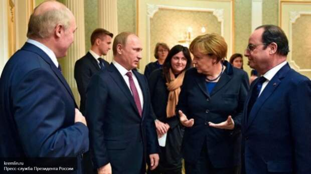 Путин рассказал, как извинялся перед Меркель за свою собаку