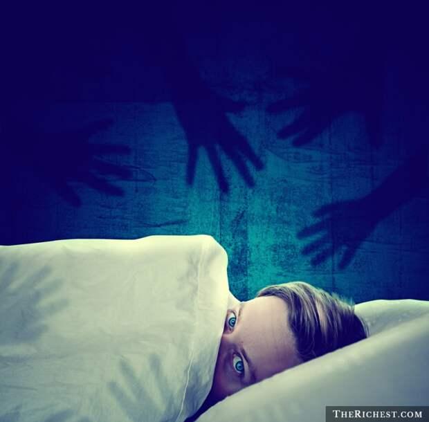 Ночные ужасы люди, сон