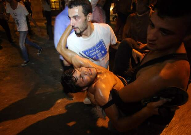 Демонстрации в Бейруте