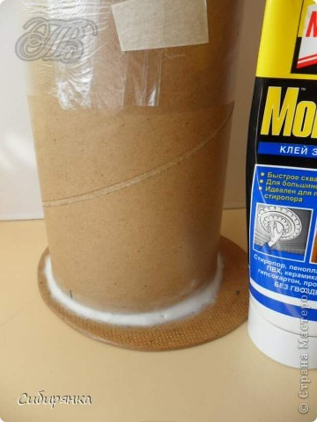 Добрый день, Страна Мастеров!!! Как и обещала, покажу некоторые промежуточные фотографии  процесса изготовления напольной вазы с африканскими мотивами. . Фото 3