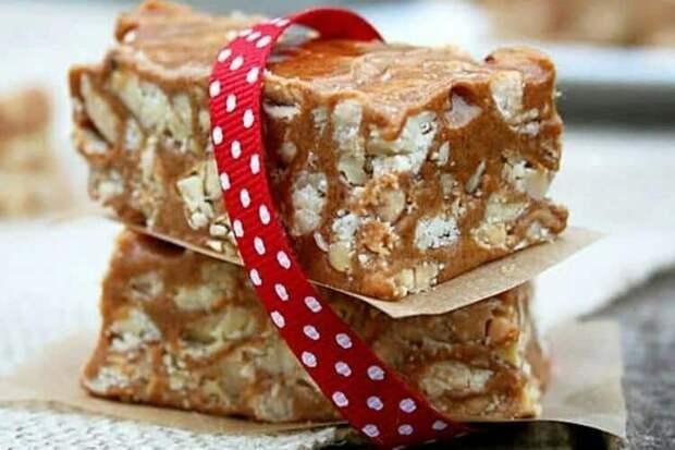 Испанский мягкий туррон. Лакомство из сахара, мёда, белков и орехов 2