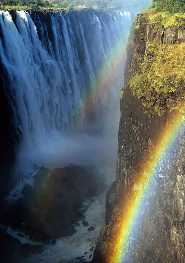 rainbow12 Радуга над самым большим водопадом в мире