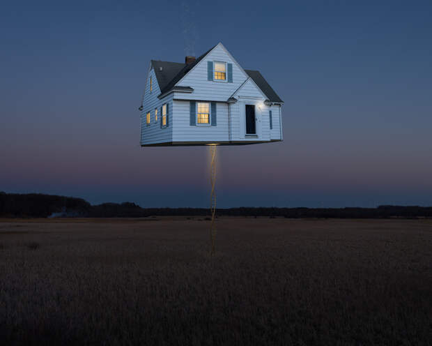 Фотоманипуляции с реальностью в работах Логана Зильмера
