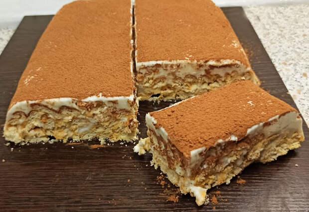 Рецепт нежного и вкусного торта без выпечки