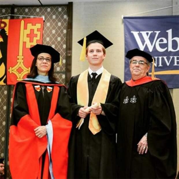 Сын Валерии Артемий с отличием окончил университет в Женеве