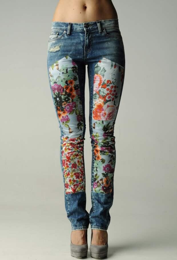 Заплатки во все джинсы
