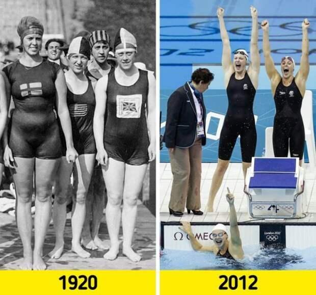 Как за 100 лет изменился спорт