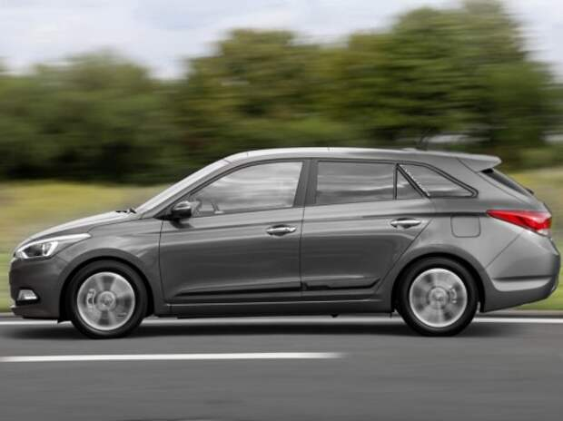 Hyundai i20 впервые выйдет в кузове универсал