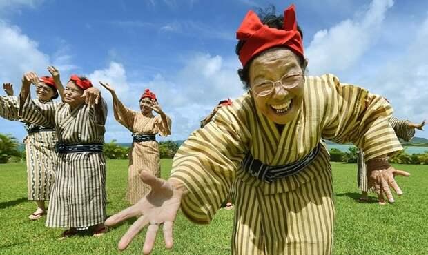 Японские бабушки жгут! Позитива вам в ленту!