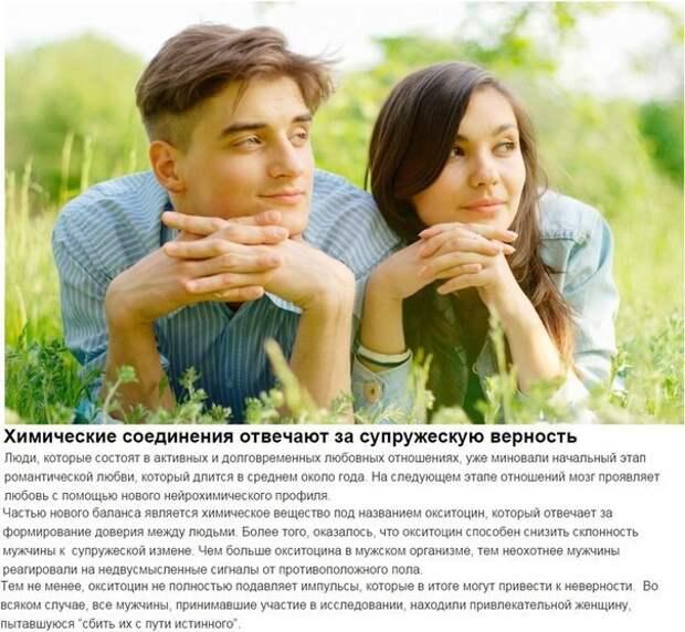 Научные факты о любви, которые вам вряд ли известны