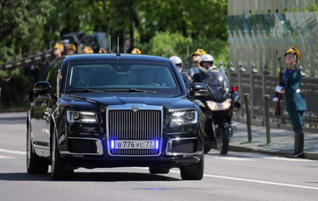 Путин покажет Трампу свой новый лимузин
