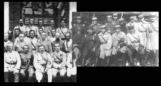 Русские белогвардейцы
