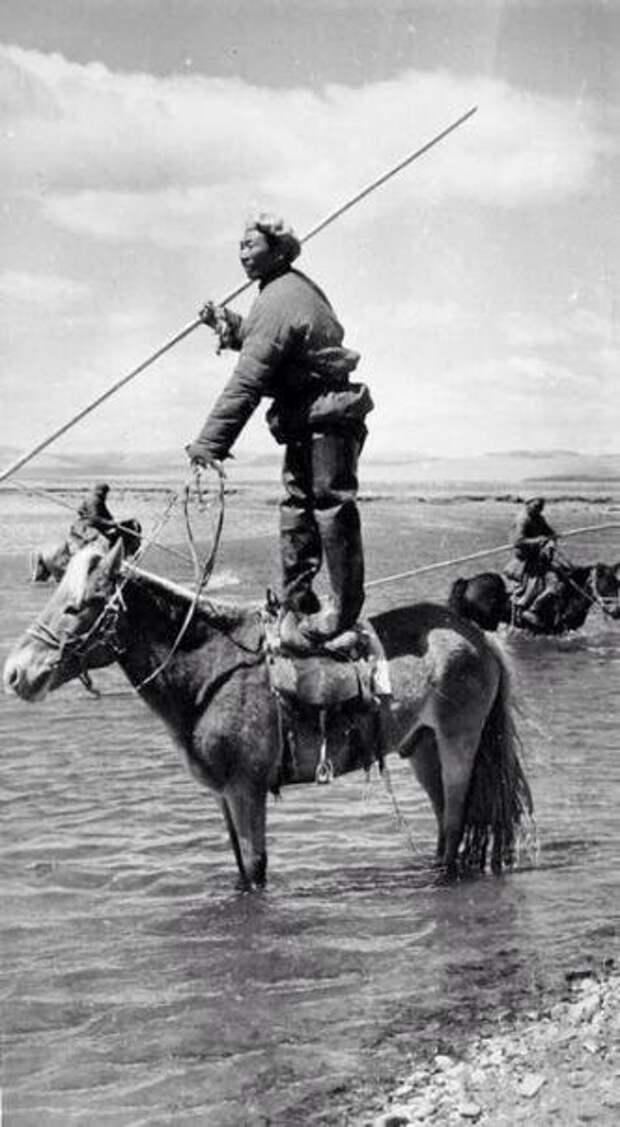 Как рыбачили в Западной Монголии.