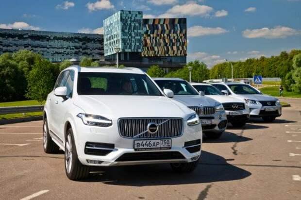 Большой тест внедорожников: новый Volvo XC90 D5 на поле брани. Часть 2