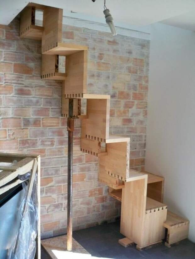 35 примеров убийственных лестниц, которые удивят вас и ваших гостей Фабрика идей, идеи, красота, лестницы, странное, строительство, удивительно