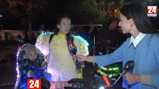 В Севастополе прошёл пятый ежегодный фестиваль «ВелоНочь»