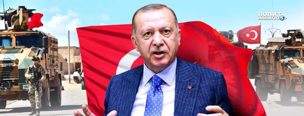 Эрдоган планирует дестабилизацию на Донбассе, в Приднестровье и на Юге России