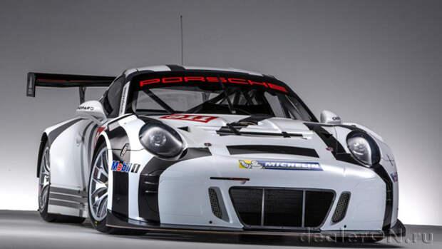 Чисто трековый 911 GT3 R 2016 легче, быстрее и... дешевле в эксплуатации