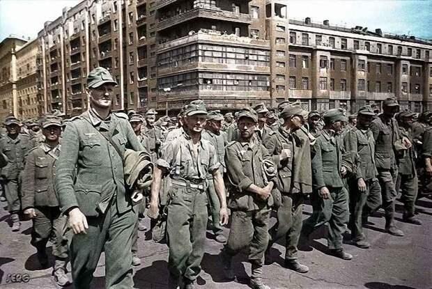 Немцы на стройках СССР. 1945-53 г.