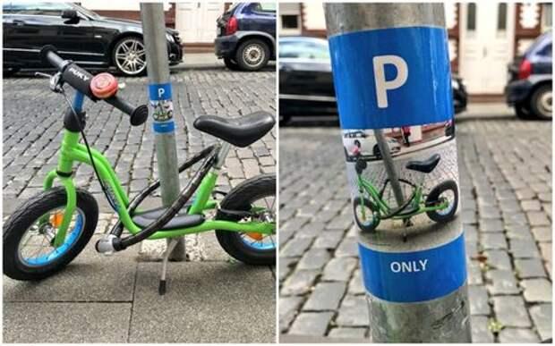 Приветливый человек подарил малышу эксклюзивную парковку
