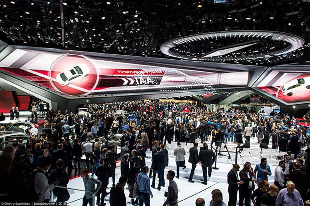 Как открылся международный автосалон во Франкфурте