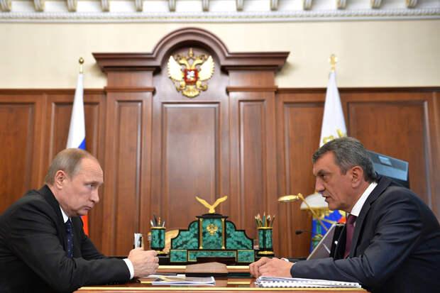 Путин снял с поста главу Северной Осетии