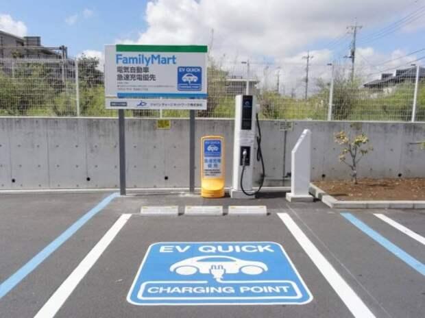 Количество электрозаправок в Японии превысило число обычных АЗС