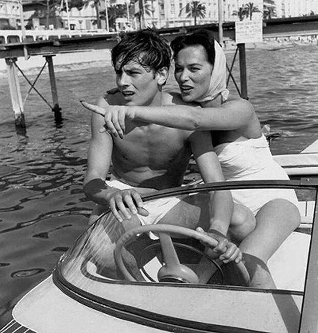 Ален Делон и Белла Дарви (1958)