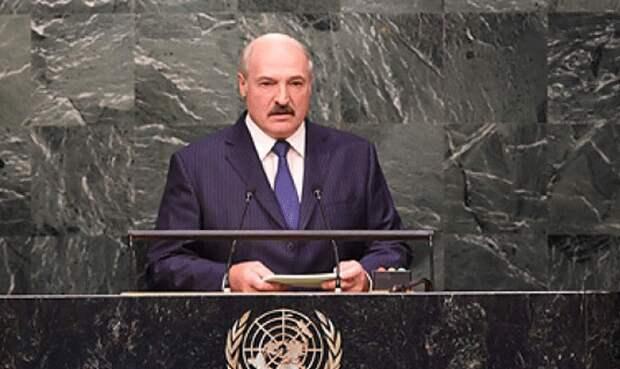 Александр Лукашенко в Нью-Йорке: Господь же видит все, и он справедлив. А если разозлится и накажет виновных?
