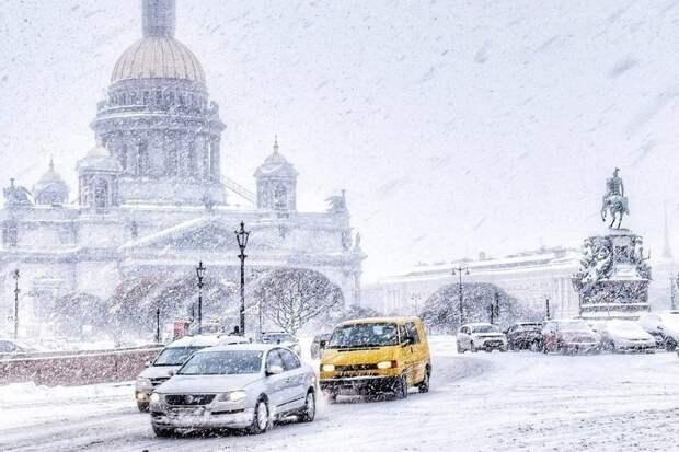 В Петербурге и Ленобласти во вторник ожидаются метель и мороз до -24 градусов