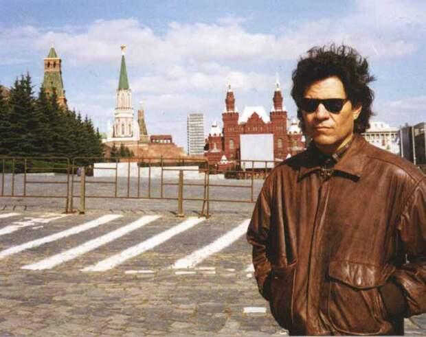 Круз Кастильо в Москве. 1995 год.