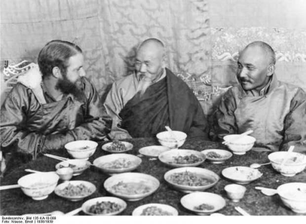 Тибетские авантюры Третьего рейха