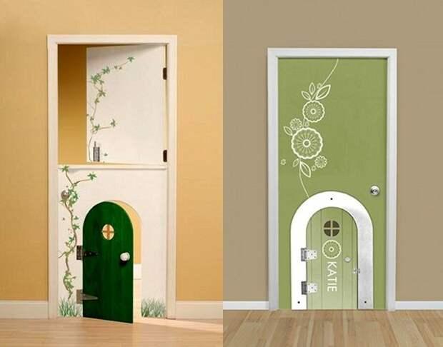 Дверь в детскую (подборка)