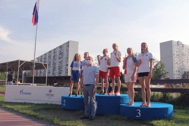 Пятиборки из Северного взяли золото на чемпионате России