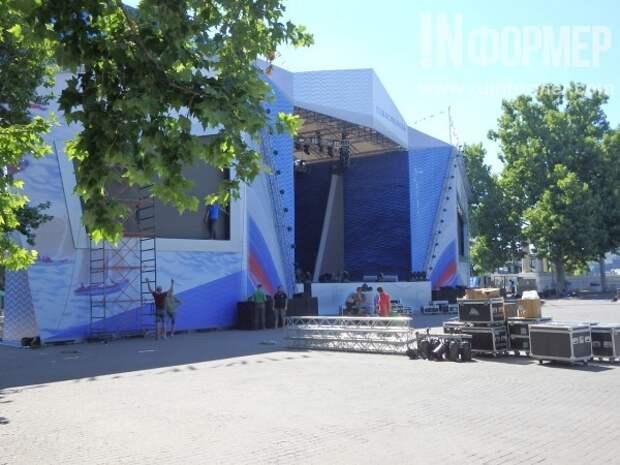 В Севастополе идёт масштабная подготовка ко Дню России и города (ФОТО)