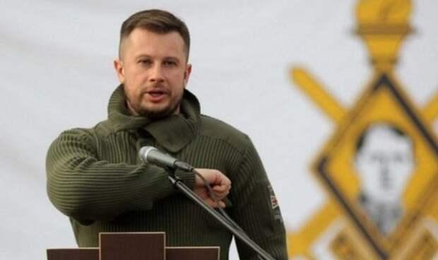 Главарь нацистов рассказал, как будет уничтожать «брошенный обессиленной Россией Донбасс»