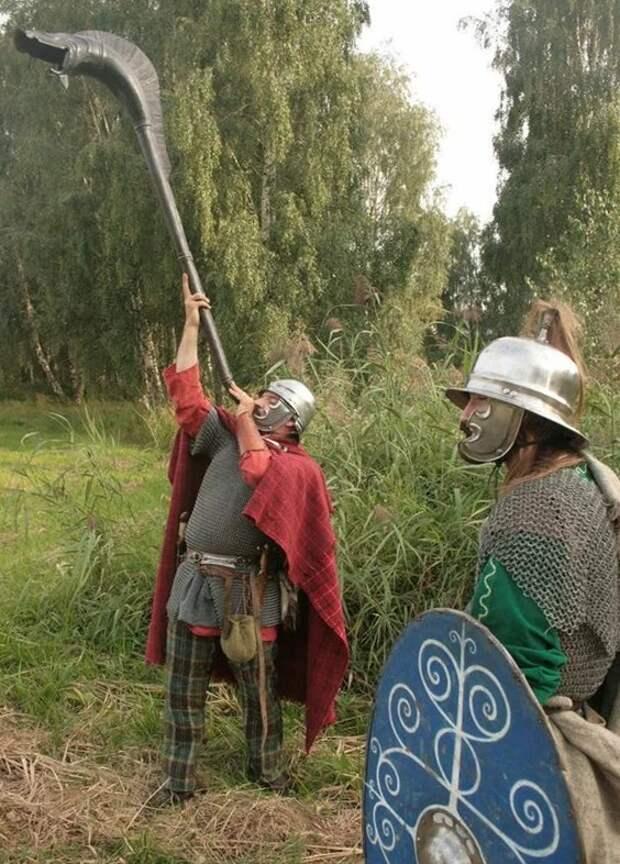 Боевые трубы кельтов