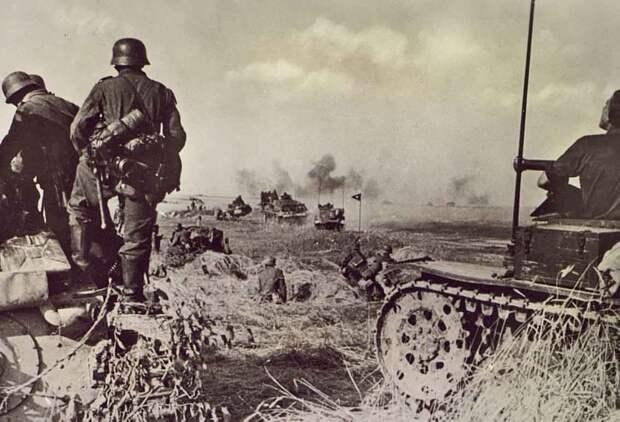 Первый день войны.