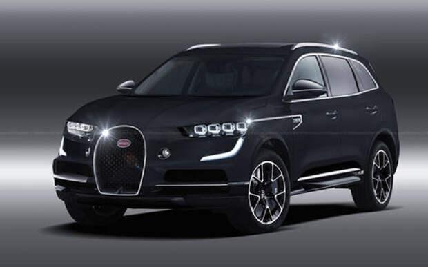 Очень деньги нужны: в Bugatti задумались о кроссовере