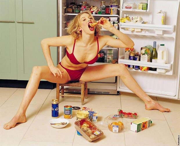 Вредные пищевые привычки россиян