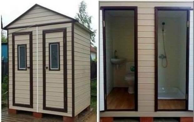 Дачный туалет 2.0