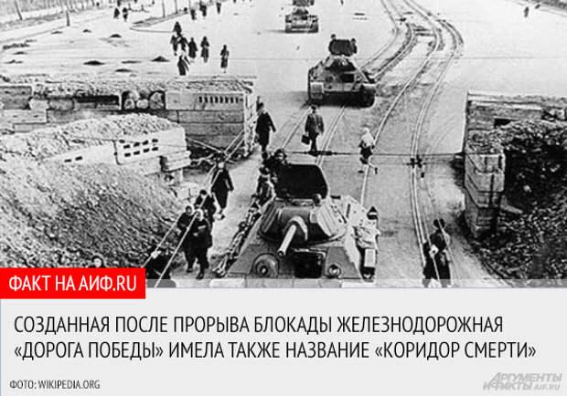 Непокоренный город. 10 фактов о блокаде Ленинграда