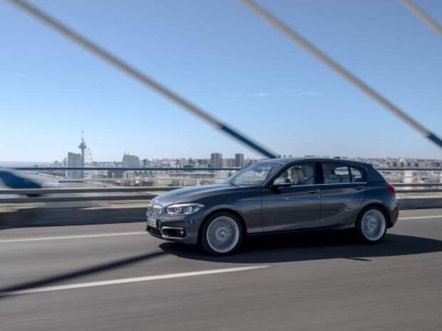 Оператив ЗР: обновленный BMW 1-й серии – один в один