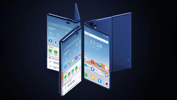 TCL показала складной смартфон с растягиваемым дисплеем