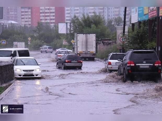В столице Забайкалья ожидается дожди и гроза