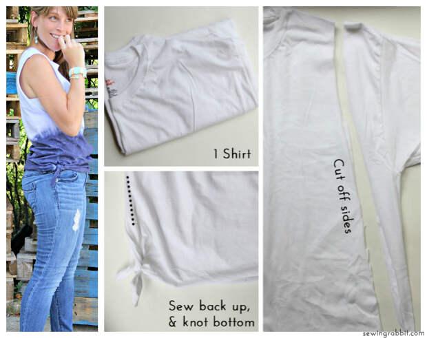 Смотрите не 10 - узел сторон RIT Dye - 10 способов превратить белый чай - #sewing || www.sewingrabbit.com