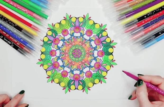 Онлайн-занятие «Раскраски для взрослых» состоится в Алтуфьево 3 июня